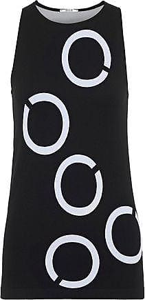 Wolford Wolford Woman Hiroko Jacquard-knit Tank Black Size XS