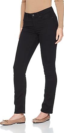 NYDJ Womens Parker Slim Jeans, Black, 6/L30 (Size: 6)