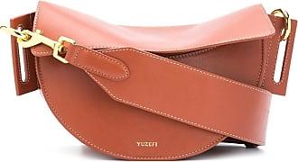 Yuzefi Dip top-handle bag - Braun