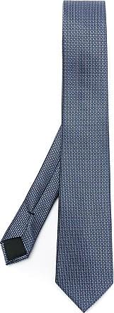 BOSS Gravata de seda - Azul