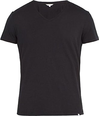 Orlebar Brown Ob-v Cotton-jersey T-shirt - Mens - Black