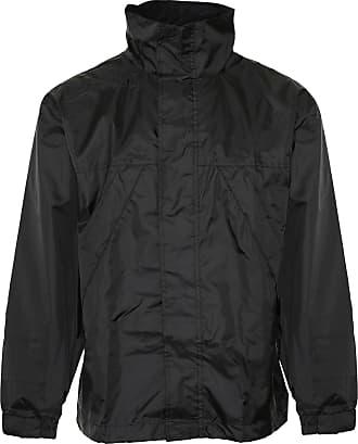 Champion Mens Typhoon Country Estate Clothing Pack Away Waterproof Coat - Black - 2XL