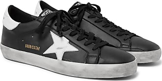 Sneakers Black Superstar Golden Distressed Leather Goose aXIxwgqZ