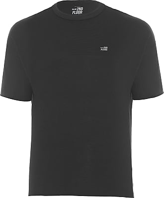 Ellus T- SHIRT MASCULINA CO BASIC - PRETO