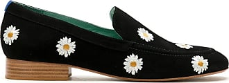 Blue Bird Shoes Loafer Boyish Daysi de camurça - Preto