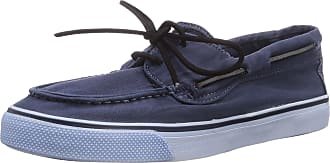 Sperry Top-Sider Bahama 2-eye Washed, Womens Trainers, Blue (Navy), 6.5 UK (40 EU)