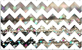 KESS InHouse Beth EngelAfter Party Chevron Artistic Aluminum Magnet, 2 by 3, Multicolor