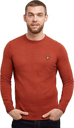 Lyle & Scott Lyle and Scott Men Crew Neck Cotton Merino Jumper - S