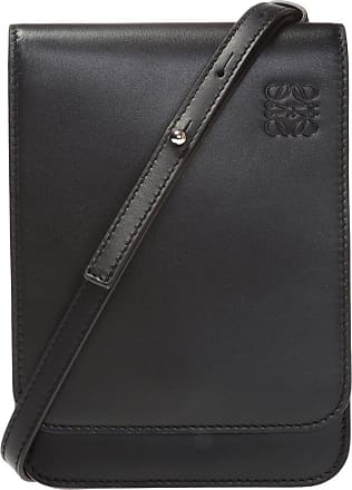 Loewe Logo-embossed Shoulder Bag Mens Black