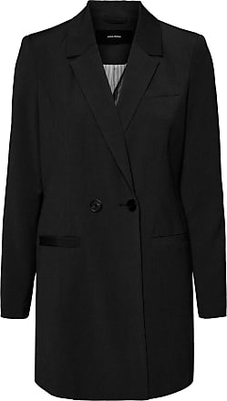 Vero Moda Womens VMDORIT 3/4 Jacket BOOS, Black, XL