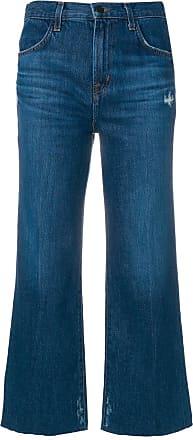 J Brand Calça jeans cropped Joan - Azul