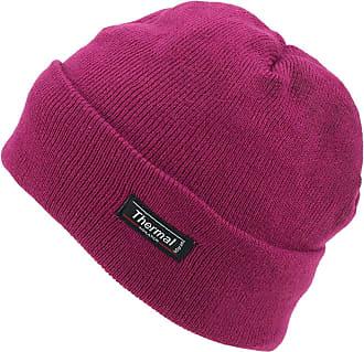 Hawkins Thinsulate Fine Knit Beanie Hat - Dark Pink