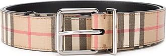 Burberry Vintage Check buckle belt - Brown