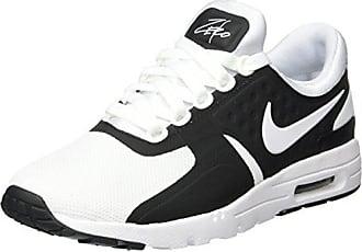 on sale 3b8db 59012 Nike Damen Air Max Zero Gymnastikschuhe Schwarz (Black White) 38 EU