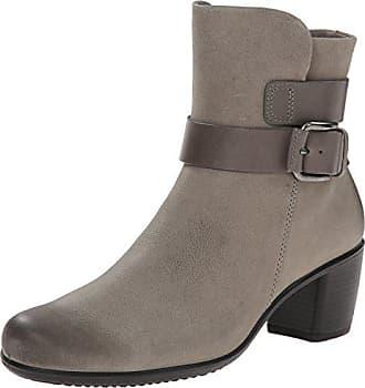 Ecco Footwear Womens Womens Touch 15 Mid Cut Bootie, Moon Rock 41 EU/10-10.5 M US