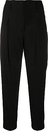 PESERICO cropped tailored trousers - Preto