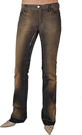 ec151ddefc9d3d Fornarina Damen Jeans Flirt Bit Denim Braun W27; W28 1 (W27/L34)