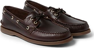 Sperry Top-Sider Authentic Original Burnished-leather Boat Shoes - Brown