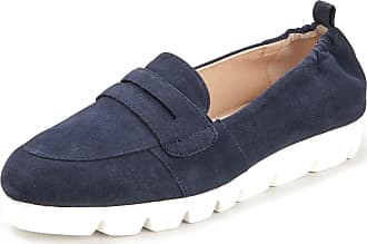 Gerry Weber Kidskin suede loafers Brella Gerry Weber blue