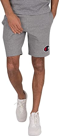 Champion Mens Logo Sweat Shorts, Grey, L
