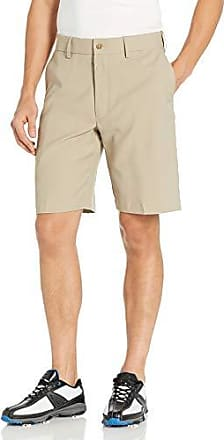 PGA TOUR Short de golf extensible à devant plat pour homme, chinchilla, 35