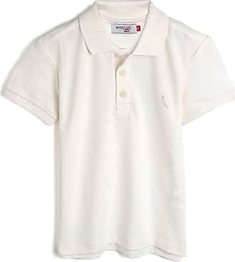 Reserva Mini Camisa Polo Reserva Mini Infantil Lisa Off-White