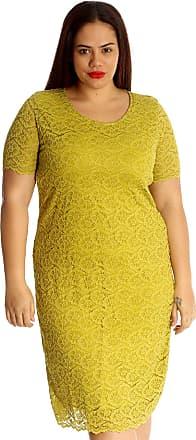 Nouvelle Collection Nouvelle Floral Lace Midi Dress Olive 20