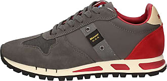 Sneakers Blauer Homme WAX 8FMUSTANG01 Gris wR7A1axq