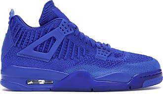 Nike Jordan Air 4 Retro Flyknit Mens Basketball Shoes Size: 9 Hyper Royal Black