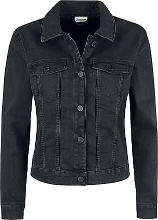 1866922fc8bb Noisy May Debra Black Wash Denim Jacket - Jeansjacke - schwarz