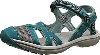 Keen Womens Sage Ankle Sandal, Everglades/Mineral Blue, 5 M US