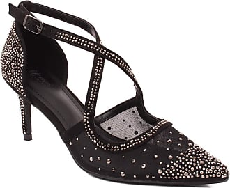 Unze Unze Women JUDY Transparent Decorated Sandals UK Size 3-8 - 335-86