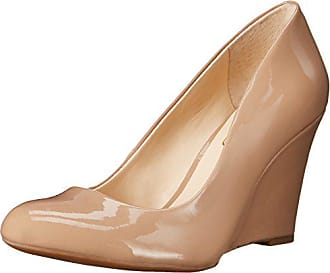 Jessica Simpson Womens Cash Wedge Pump,Nude, 5.5 M US