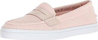 1d29e73620d Cole Haan Womens Pinch Weekender LX Stitchlite Loafer Flat Pink White