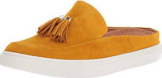 Gentle Souls by Kenneth Cole Womens Rory Slip on Mule with Tassel Shoe, marigold, 8.5 M US