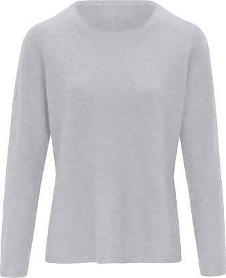 include Round neck jumper in pure new wool and cashmere include grey