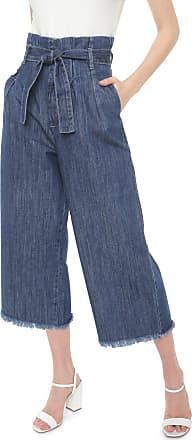 Lez a Lez Calça Jeans Lez a Lez Pantacourt Lisa Azul