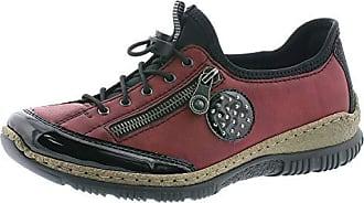 Rieker M6014 Schuhe Damen Halbschuhe Schnürschuhe Sneaker