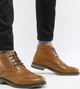 New Look Brogue Boot - Tan