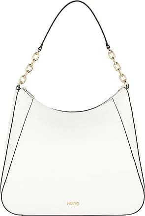 HUGO BOSS Hobo Bags - Victoria Hobo Bag Open White - white - Hobo Bags for ladies