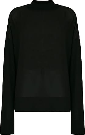 Versace Jeans Couture Suéter translúcido - Preto