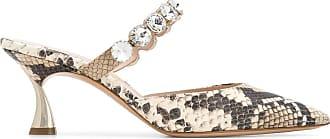 Casadei Sapato com cristais - Neutro
