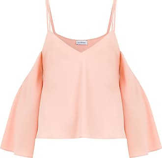 OLYMPIAH Titicaca cropped top - PINK