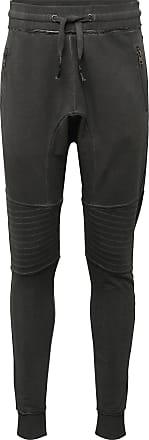 Tigha Pantalon Trevor Zip gris