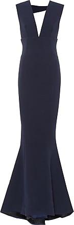 Rebecca Vallance Mimosa stretch crêpe gown