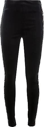 Koché Legging com listra lateral - Preto