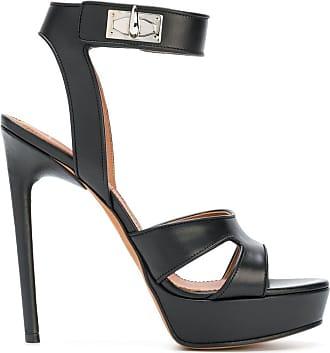Givenchy Sandália de couro - Preto