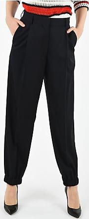 Dries Van Noten single pleat pants with Elastic Ankle Band Größe 40