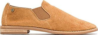 Hush Puppies Womens Analise Clever Flat, Camel, 11 W US