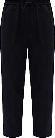Jil Sander Cotton Trousers Mens Navy Blue